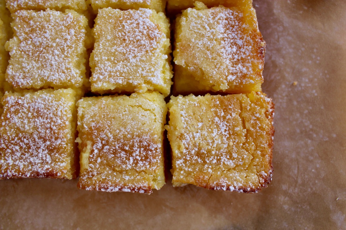 Smitten Kitchen's whole lemon bars | Emma Grace Grdina