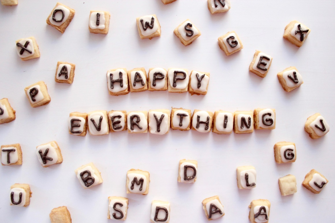Scrabble tiles which say Happy Everything.jpg